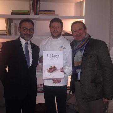 Con lo chef stellato Peter Brunel