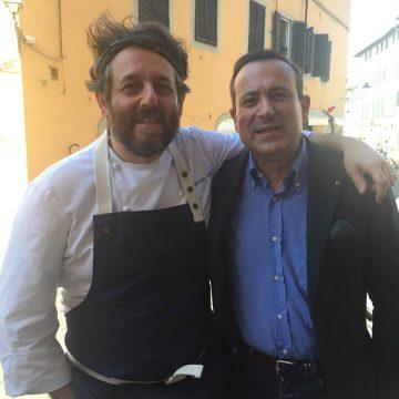 Con lo chef stellato e personaggio televisivo (La Prova del Cuoco e Masterchef) Cristiano Tomei