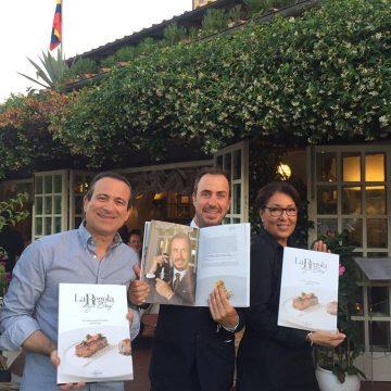 Flavio Nuti e David Vaiani del ristorante 'Bistrot' di Forte dei Marmi mostrano la ricetta abbinata allo Spumante Brut La Regola