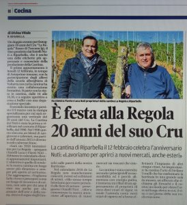 Anniversario La Regola_tirreno
